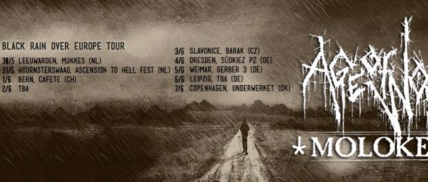 Black Rain Over Europe tour kick off